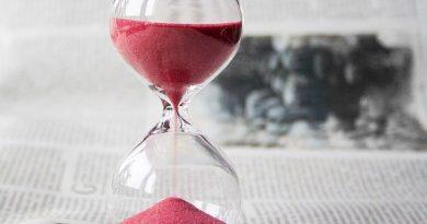 sablier pour gérer son temps